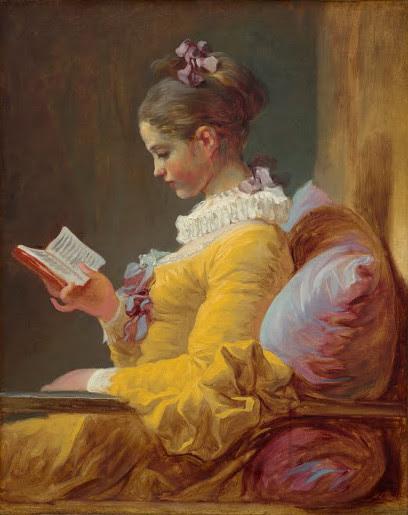 Young Girl Reading, Jean-Honoré Fragonard